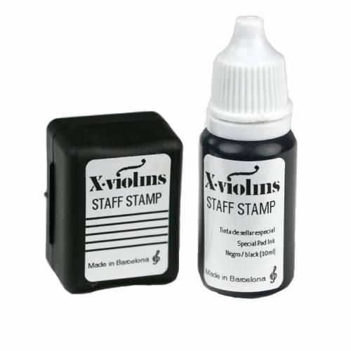 XVIOLINS STAFF STAMP FIDOLINO